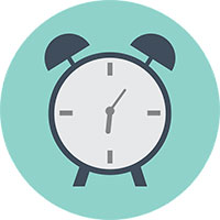 illustration of alarm clock by Pixabay