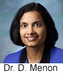 Photo of neurologist Deepa Menon who answers questions about autism