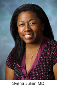 Obstetrician/gynecologist Svena D. Julien MD, courtesy of Hopkins Medicine