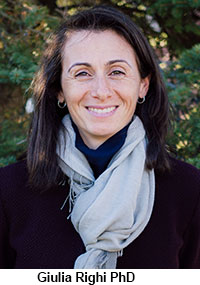 photo of autism researcher Giulia Righi