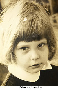 Phoro of Rebecca Evanko as a child