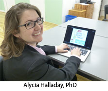 Photo of Alycia Halladay, PhD